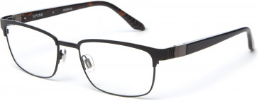 Spine SP2005 Glasses in Black