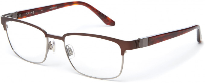 Spine SP2005 Glasses in Brown
