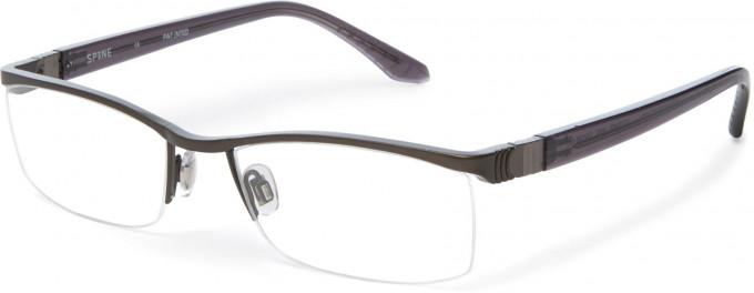 Spine SP2007 Glasses in Dark Gunmetal