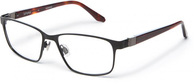 Spine SP7001 Glasses in Black