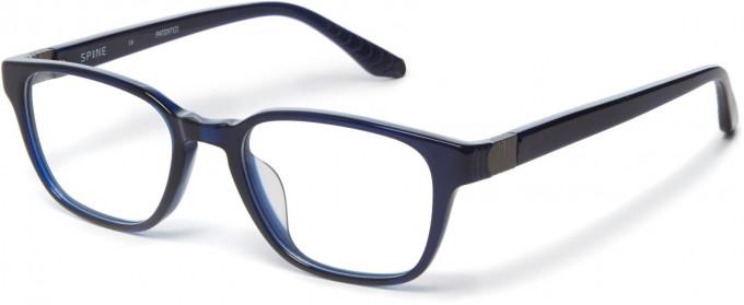 Spine SP1003 Glasses in Navy