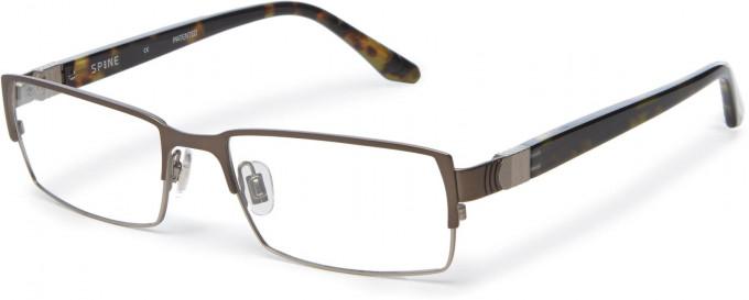Spine SP2002 Glasses in Dark Gunmetal