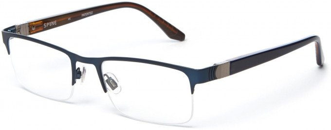 Spine SP2004 Glasses in Navy