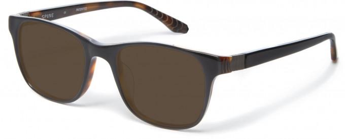 Spine SP1002 Glasses in Black/Tortoiseshell