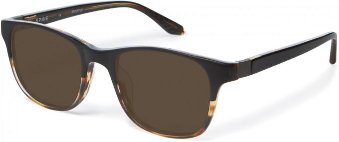 Spine SP1002 Glasses in Black/Havana