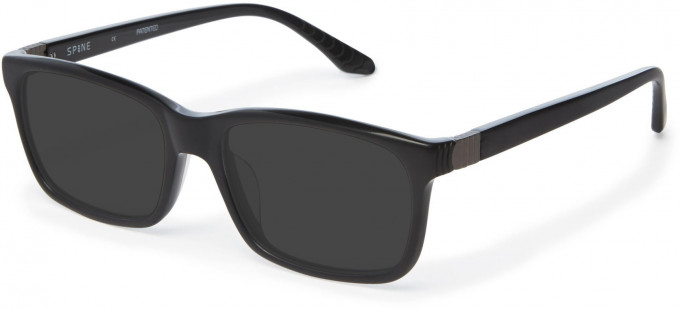 Spine SP1004 Glasses in Black