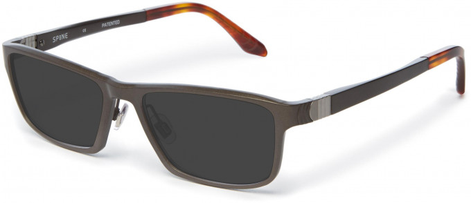 Spine SP2001 Glasses in Dark Gunmetal