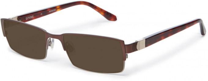 Spine SP2002 Glasses in Brown