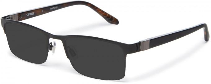 Spine SP2004 Glasses in Black