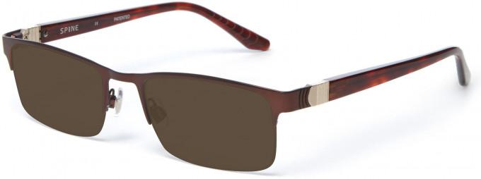Spine SP2004 Glasses in Brown