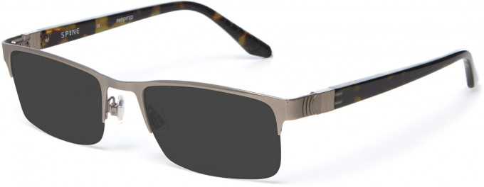 Spine SP2004 Glasses in Light Gunmetal