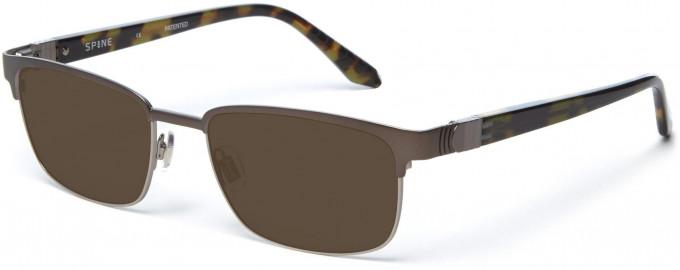 Spine SP2005 Glasses in Dark Gunmetal