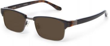Spine SP2006 Glasses in Black/Tortoiseshell