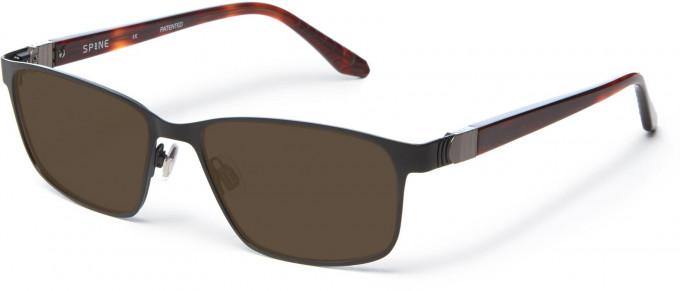 Spine SP7001 Glasses in Black