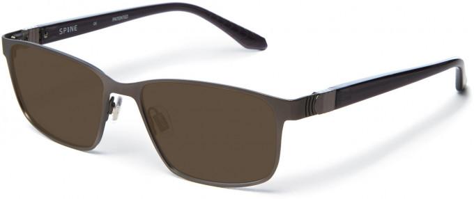 Spine SP7001 Glasses in Dark Gunmetal