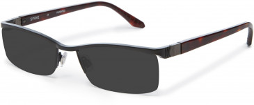 Spine XL Metal Ready-Made Reading Sunglasses