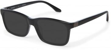 Spine SP1004 Glasses in Black