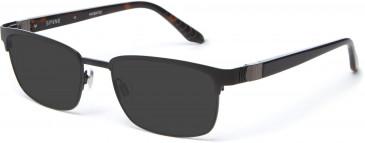 Spine SP2005 Glasses in Black