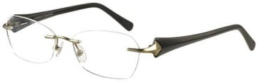 Prodesign Denmark Titanium Prescription Glasses