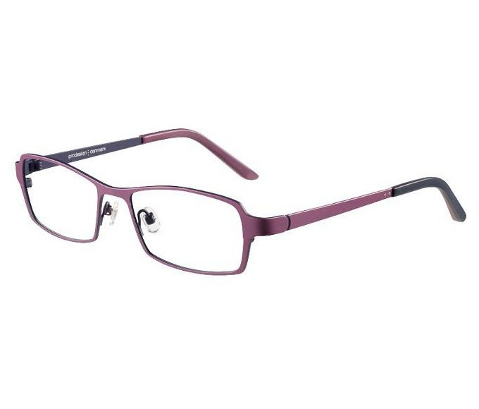 Prodesign Denmark 1264 glasses in Plum