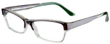 Prodesign Denmark 4663 glasses in Brown/Crystal