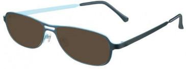Prodesign Denmark 1218-55 sunglasses in Blue