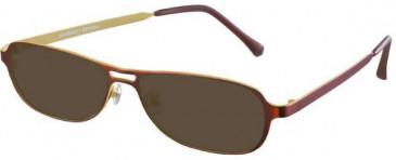 Prodesign Denmark 1218-52 sunglasses in Brown