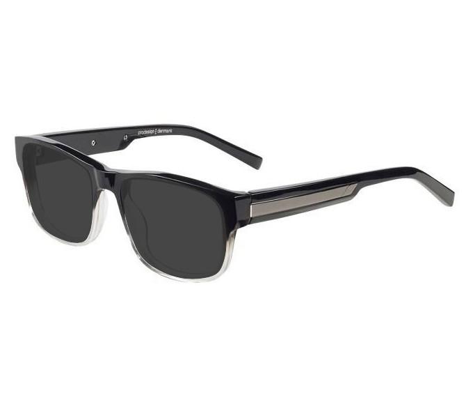 Prodesign Denmark 1717 sunglasses in Black/Crystal