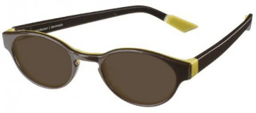 Prodesign Denmark Petite Plastic Prescription Sunglasses