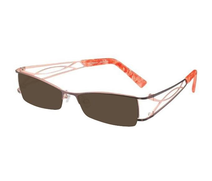 Prodesign Denmark 5121 sunglasses in Brown