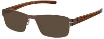 Prodesign Denmark 6139 sunglasses in Brown
