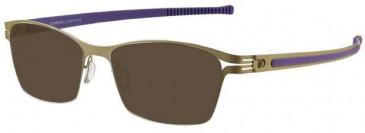 Prodesign Denmark 6141 sunglasses in Gold