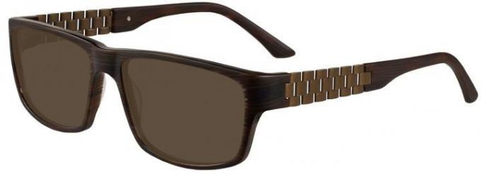 Prodesign Denmark 7631 sunglasses in Brown