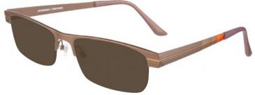 Prodesign Denmark Titanium Ready-Made Reading Sunglasses