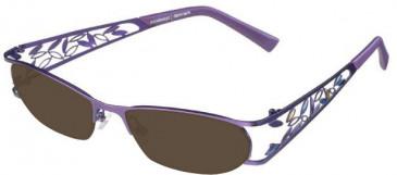 Prodesign Denmark 5130 sunglasses in Purple