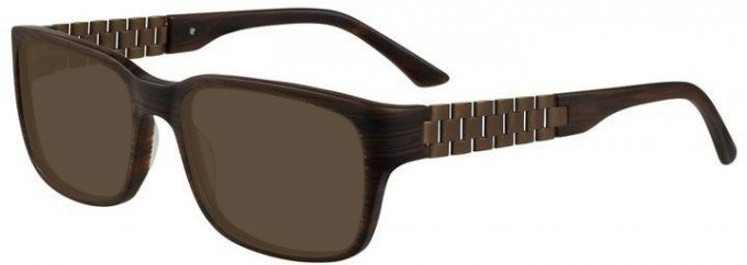 Prodesign Denmark 7630 sunglasses in Brown