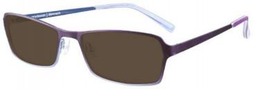 Prodesign Denmark 1261 sunglasses in Purple