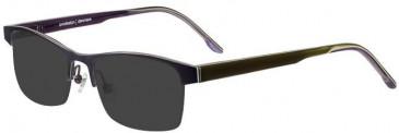 Prodesign Denmark 1398 sunglasses in Purple