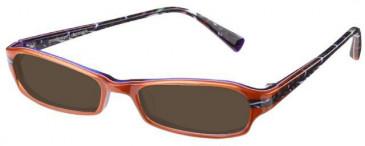 Prodesign Denmark 1677 sunglasses in Orange
