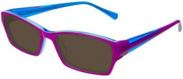 Prodesign Denmark 4661 sunglasses in Purple/Blue