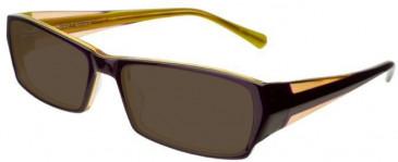Prodesign Denmark 4662-55 sunglasses in Purple