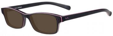 Prodesign Denmark 4713 sunglasses in Black/Pink