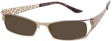 Prodesign Denmark 5109 sunglasses in Gold