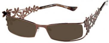 Prodesign Denmark 5115 sunglasses in Brown
