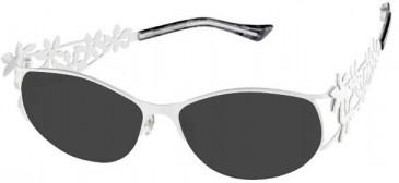 Prodesign Denmark 5116 sunglasses in White