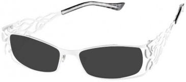 Prodesign Denmark 5117 sunglasses in White