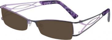Prodesign Denmark 5121 sunglasses in Purple