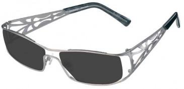 Prodesign Denmark 5125 sunglasses in Silver