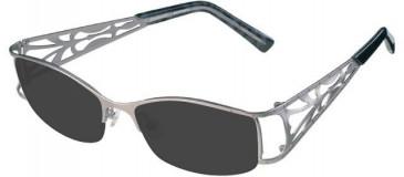 Prodesign Denmark 5126 sunglasses in Silver