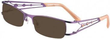 Prodesign Denmark 5127 sunglasses in Purple